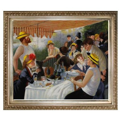 renoirs luncheon of the boating party