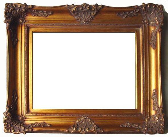wholesale museum quality antique gold ornate wood picture frames - Museum Frames
